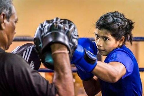 Nikhat Zareen and Meena Kumari Devi Tuesday became the first set of Indian women boxers to notch up gold medals at the Strandja Memorial Tournament in Sofia, Bulgaria