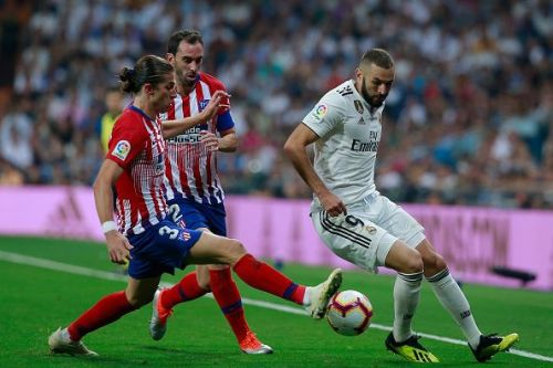 Karim Benzema has been in red-hot form as of late. Filipe Luis and Diego Godin will have to be keen on their senses to stop the Frenchman from doing damage.