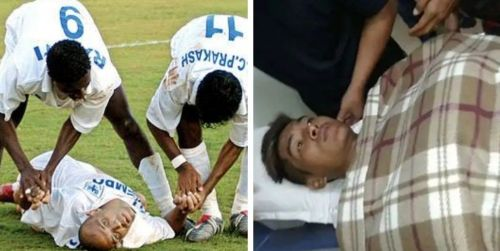 Rittik Das' death is not the first instance of an Indian footballer dying on the football ground