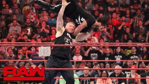 What will Rollins have to say after being decimated by Brock Lesnar?