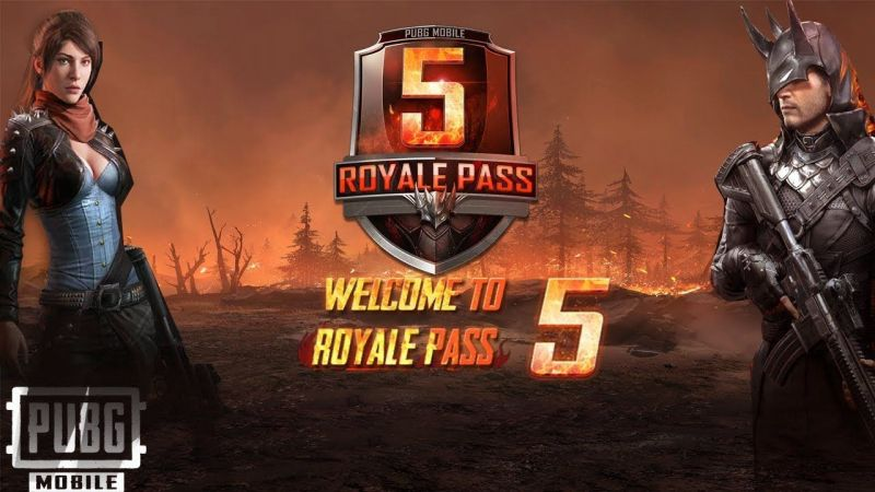 PUBG Mobile Season 5 Royale Pass