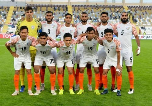 India are now officially out of the top 100 in FIFA Rankings