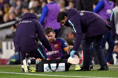 All eyes will be on the availability of Lionel Messi for this game