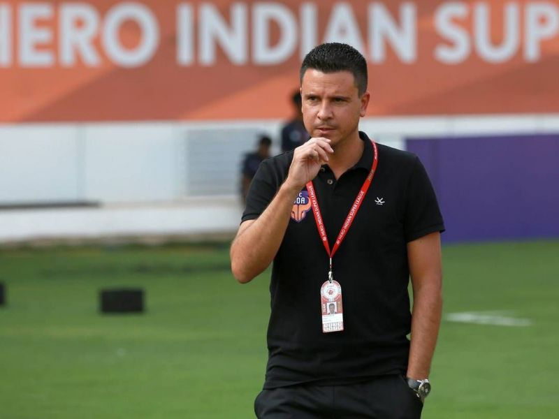 Sergio Lobera is the head coach of FC Goa