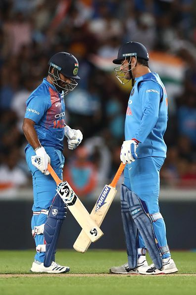 Rishabh Pant learning from MS Dhoni