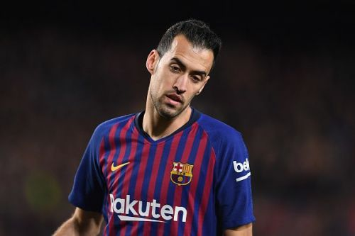 Busquets is out with suspension