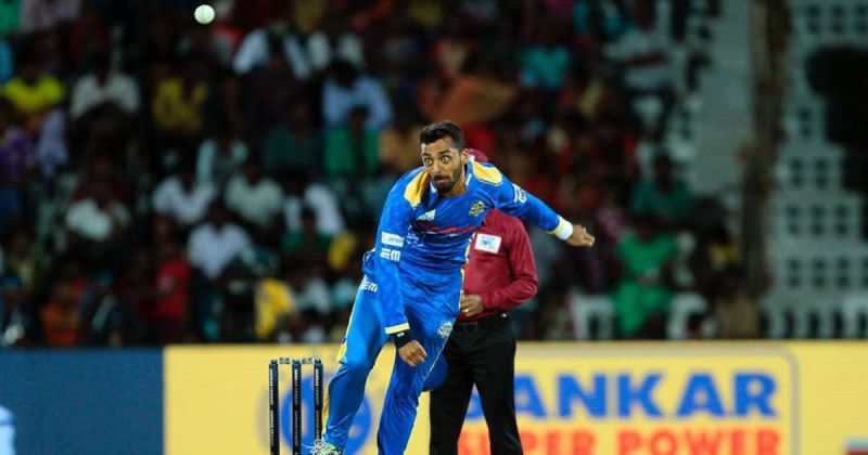 Varun finished TNPL 2018 season with an economy rate of just 4.70