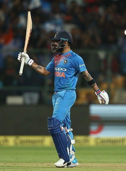 Virat Kohli playing another blinder