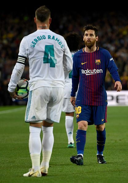 Ramos will be relishing the prospect of stopping Messi