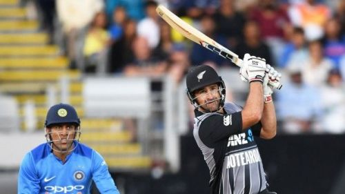 Colin de Grandhomme scored a quickfire 50 runs of 28 balls