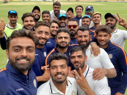 Jaydev captained the Saurashtra into the finals of the 2018-19 season of Ranji Trophy