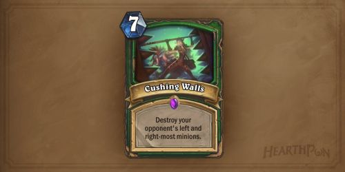 Image result for crushing walls hearthstone