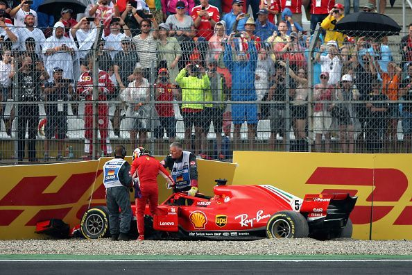 Vettel was the victim of his own downfall in 2018.