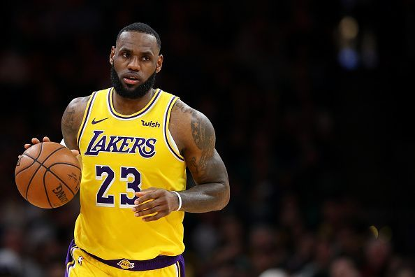 0f6da81cc Things have not exactly gone according to plan for Lebron James as a Los  Angeles Laker