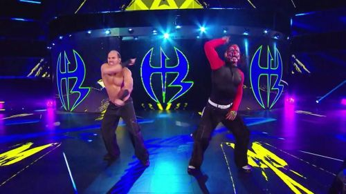 Why did Matt and Jeff Hardy reunite on the blue brand?