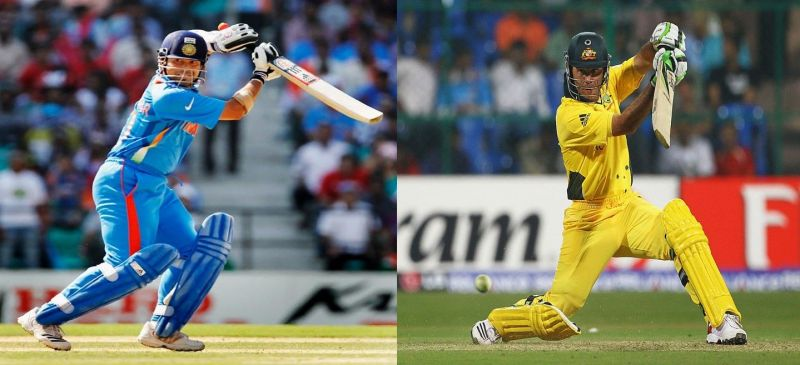 Tendulkar and Ponting are two of the greatest ODI batsmen of all time