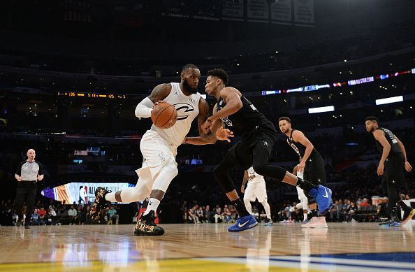1893a4c0ad7 Giannis and LeBron played against each other last year as well Giannis and  LeBron played against each other last year as well. The NBA All-Star game  ...