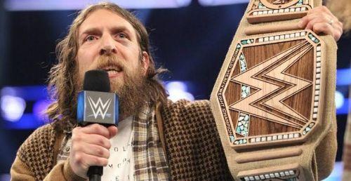 The WWE champion