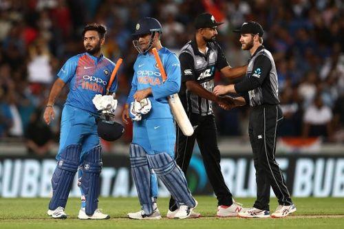 New Zealand Black Caps v India - International T20 Game 2