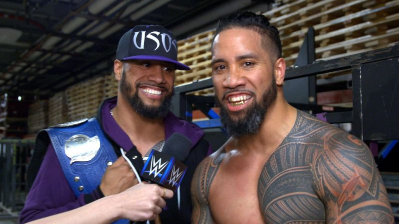 The Usos may not return to their previous heights after their legal issues