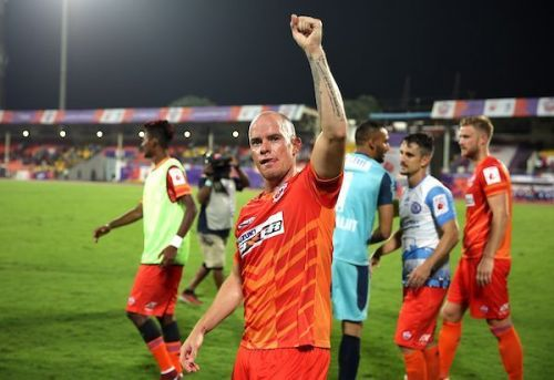 Iain Hume has not yet opened his scoring for the Stallions (Image Courtesy: ISL)