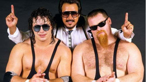 The talented trio will be inducted into the WWE Hall of Fame this April.
