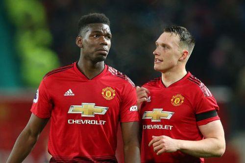 Jones and Paul Pogba set up United's big win over Fulham on Saturday
