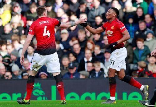 Fulham vs. Manchester United.