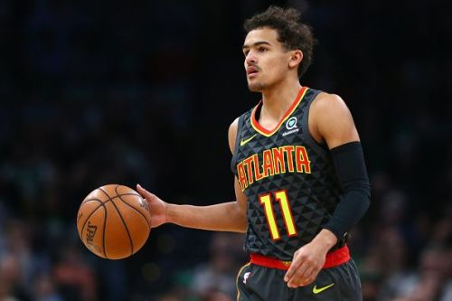 Trae Young is second in scoring for rookies