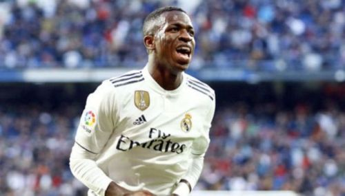 Vinicius Junior missed two opportunities in the first half