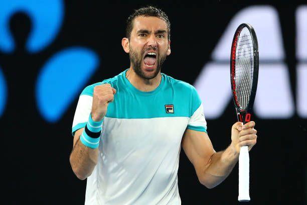 Dubai Duty Free Tennis Championships 1st Round Marin Cilic Vs Gael