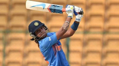 Harmanpreet Kaur is known as a powerful scorer