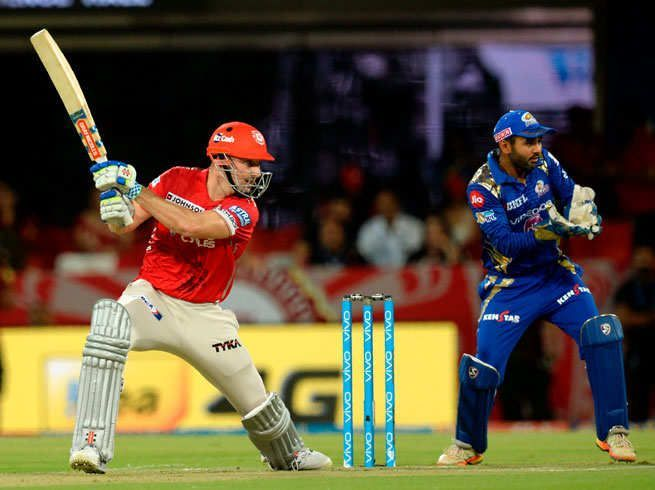 Shaun Marsh of KXIP is the leading run scorer in KXIP vs MI matches.