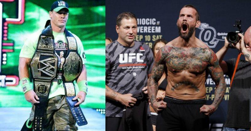 John Cena and CM Punk
