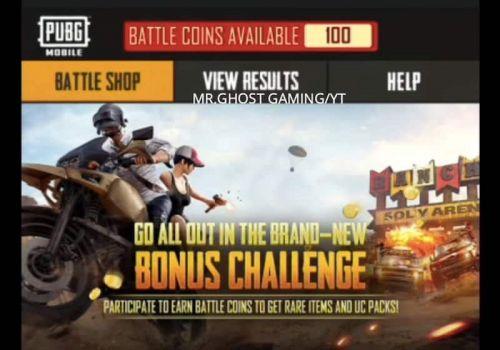 PUBG Bonus Challenge