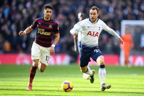 Christian Eriksen's contract ends in 2020