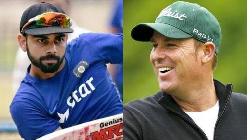 Australian legend Shane Warne has lavished praise on the Indian captain