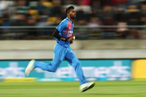 Hardik Pandya has been sidelined from India's last series before the World Cup