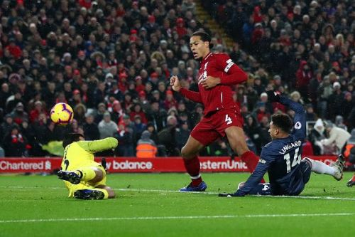 Liverpool beat Manchester United 3-1 when they met last time in December