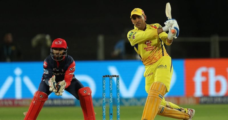 MS Dhoni is the leading run scorer in DC vs CSK matches.