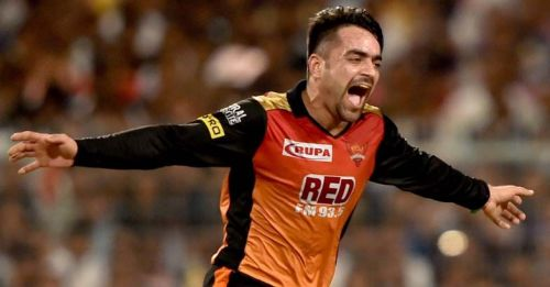 One of the best limited overs spinners at present, Rashid will be SRH's trump card yet again