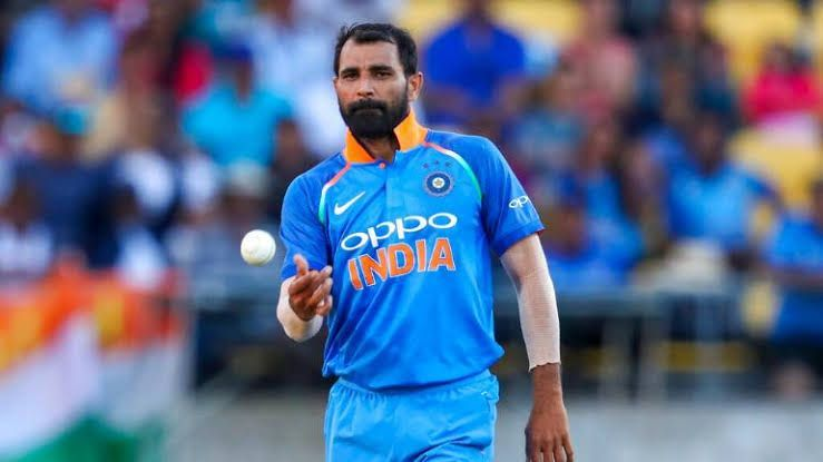 Shami was man-of-the-series against New Zealand