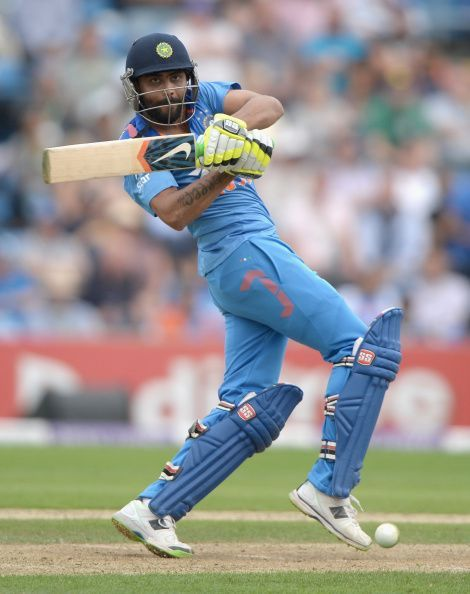 'Sir' Ravindra Jadeja can strike the ball beautifully, and will be in contention for a place in the side