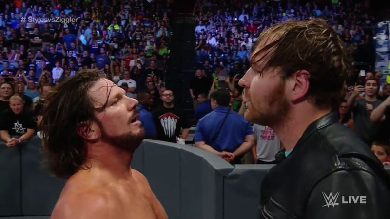 AJ Styles would have defended the WWE Championship against Dean Ambrose