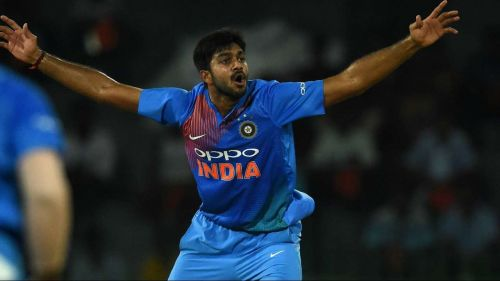 Vijay Shankar did not bowl a single ball in this T20I series