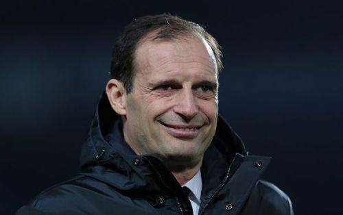 Massimiliano Allegri's Juventus are leading the Serie A table