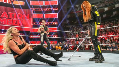 Elimination Chamber saw Becky Lynch destroy Ronda Rousey and Charlotte