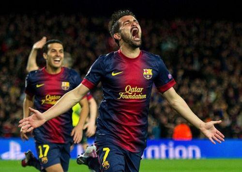 David Villa joined Barcelona from fellow LaLiga club Valencia in 2010.