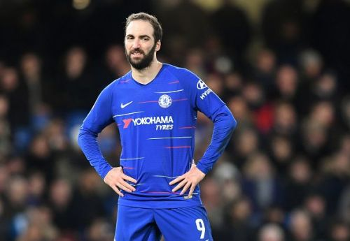 Higuain hasn't exactly touched down with ease at Chelsea