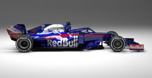 The Toro Rosso design is an instant classic